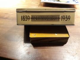 Sigarenblik 100 jaar spoorjubileum