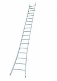 SOLIDE enkele ladder 18 sporten met open voet, Gratis verzending