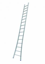 SOLIDE enkele ladder 16 sporten met open voet, Gratis verzending