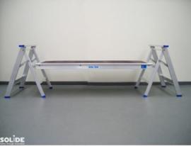 Platform voor gebruik met 2 schragen.
