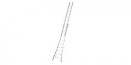 Gecoate 2-delige ladder met open voet