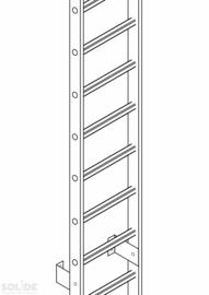 Ladder zonder kooi prijs per meter