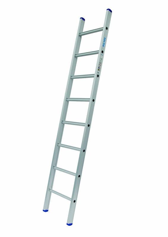 SOLIDE enkele ladder 8 sporten rechte voet, Gratis verzending