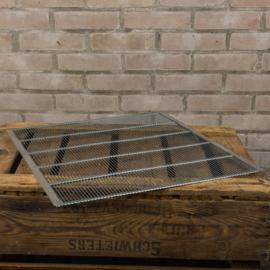Moerrooster metaal voor houten spaarkast (40x45cm)