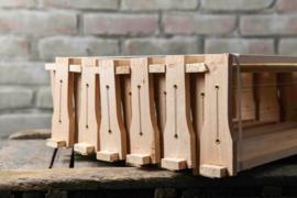 12 x Duits Normaal honingkamerramen