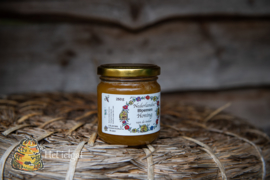 Honing etiketten Korfjes 100 stuks met gegevens opgedrukt