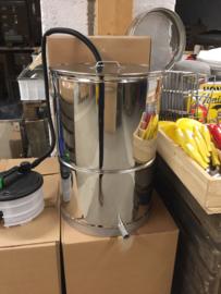 Rvs wassmelter 80 Liter