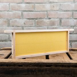 1 Simplex honingkamerraam, zz, met ingesmolten raat