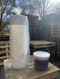 12 Plastic Honing emmers 14 KG