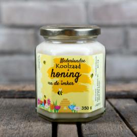 Honing etiketten Modern 100 stuks blanco