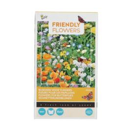Buzzy® Friendly Flowers Vlinders Laag 15m²