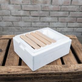 Kielerbevruchtingskastje broedkamer incl. plastic raampjes