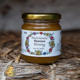 Honing etiketten korfjes 100 stuks blanco