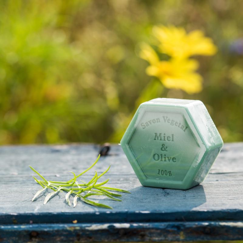 Honingzeep met olijf