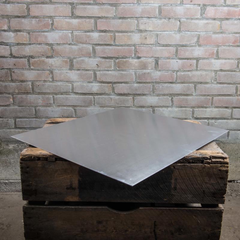Spaarkast aluminium dakplaat 50x55 cm niet gezet of gezet