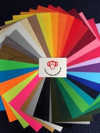 Flexfolie  Pakket 36 kleuren (21 cm x 29 cm)