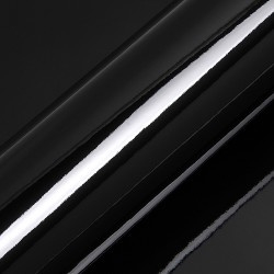 Statische Raamfolie Zwart Glossy A4 (Penstick)