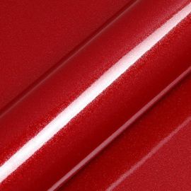 Glitter Granaat Rood Glossy 21 cm x 29 cm