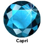 Hot Fix Rhinestone Capri Blue  ss20 zakje a 50 gram