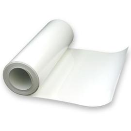 Statische Folie Wit Glossy 16 cm x 25 meter (Penstick,Restpartijen)