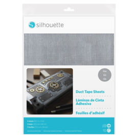 Silhouette Duct Tape Sheet Grey