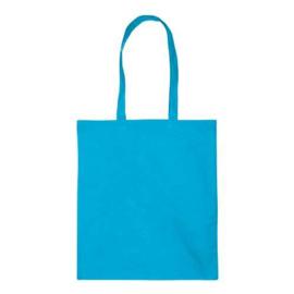 Katoenen Tas Licht Blauw