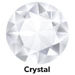 Hot Fix Rhinestone Crystal ss30  zakje a 50 gram