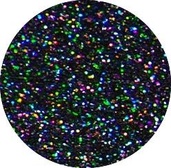 Glitter Holo Black 956 Flexfolie 50 cm x 1 meter