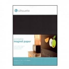 Silhouette Magnet Paper Printable