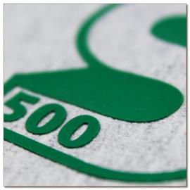 Flexfolie Silicone 3D 500 Green 30 cm x 50 cm