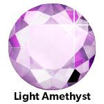 Hot Fix Rhinestone LT Amethist ss16 zakje a 50 gram