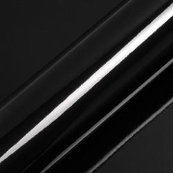 Statische Raamfolie Zwart Glossy 8,5 cm x 25 meter (Penstick ,restpartij)