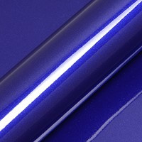 Glitter Triton Blauw Glossy   1 meter  x 30 cm