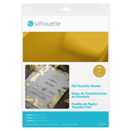 Silhouette Foil Transfer Sheet Gold