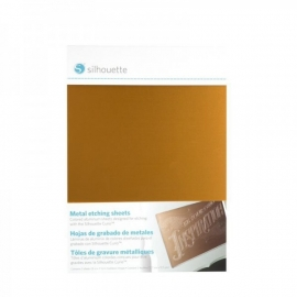 Silhouette Metal etching sheet contains 3 sheets 12,7x17,7cm