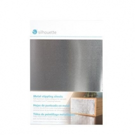 Silhouette Metal Stippling sheet cotains 6 sheets 12,7 x 17,7 cm