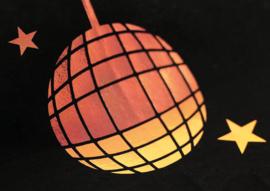 Disco 2003 Flex Red 50 cm x 1 meter
