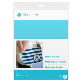 Silhouette Stencil Material Adhesive