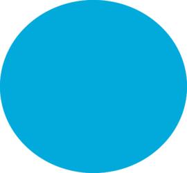 Fluor Blue Flock Folie 30 x 50 cm
