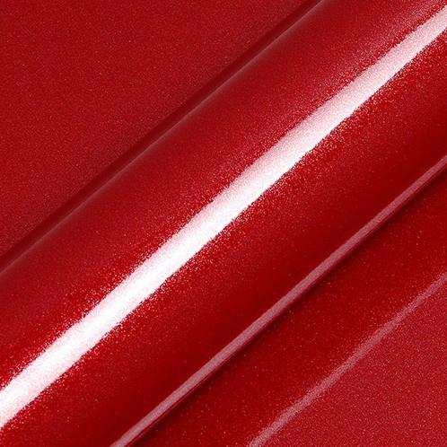 Glitter Granaat Rood Glossy 1 meter  x  30 cm
