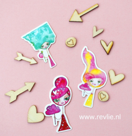 Stickerset SWEET