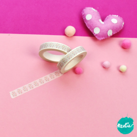Group of Hearts washi tape 10 mm - Millie