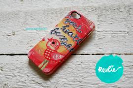 "iphone 5 hardcase 3D.  limited edition ontwerp ""let your heart be light"" door Revlie"