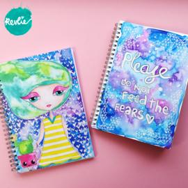 """Art Journal """"Cacti"""""""