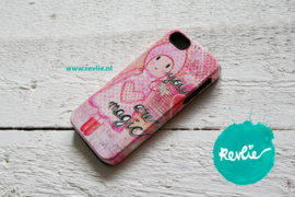 """iphone 5 tough case 3D.  limited edition ontwerp """"you are magic {girl}"""" door Revlie"""