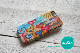 "iphone 5 hardcase 3D.  limited edition ontwerp ""love grows here"" door Revlie"