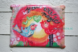 "ipad 2, 3 of 4 hardcase 3D.  limited edition ontwerp ""you are magic {birds}"" door Revlie"