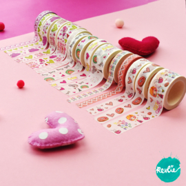 Superset Washi tapes Billie, Millie en Pinkie