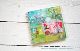 Uniek notitieboekje BEAUTIFUL PLACE met geheime berichtjes van mij & gratis twee REVitup ansichtkaarten