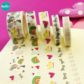 Set Millie washi tapes 10, 15 en 25 mm - Millie